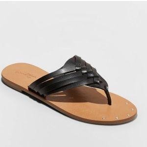 Elani Woven Crossbrand Sandals - Universal Thread